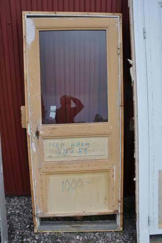 Dörr med glas - #0
